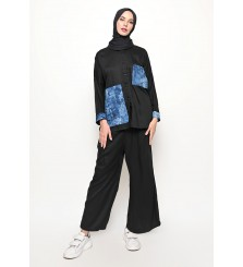 Alya Black Tye Dye Set