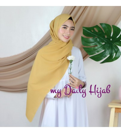 Pasmina Lasercut Diamond warna Amber