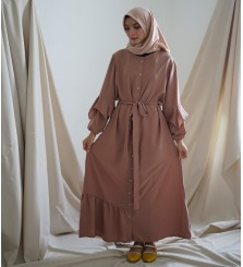 Umira Dress Rosybrown