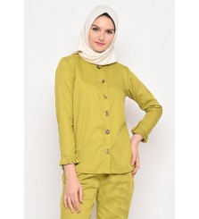 Malika Blouse Lime