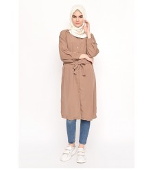 Nada Tunic Outer Rosybrown