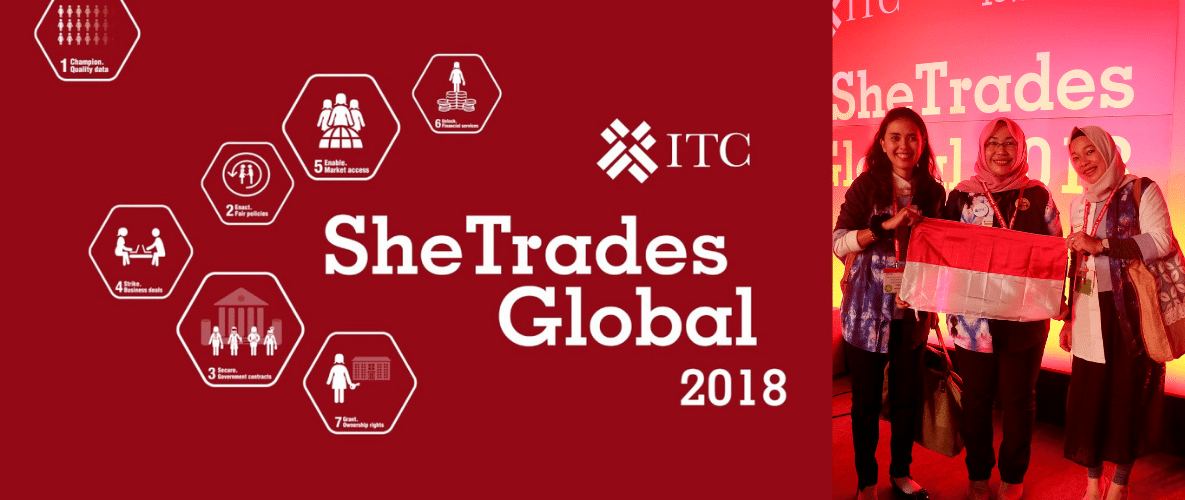 My Daily Hijab Goes to She Trade ITC UN