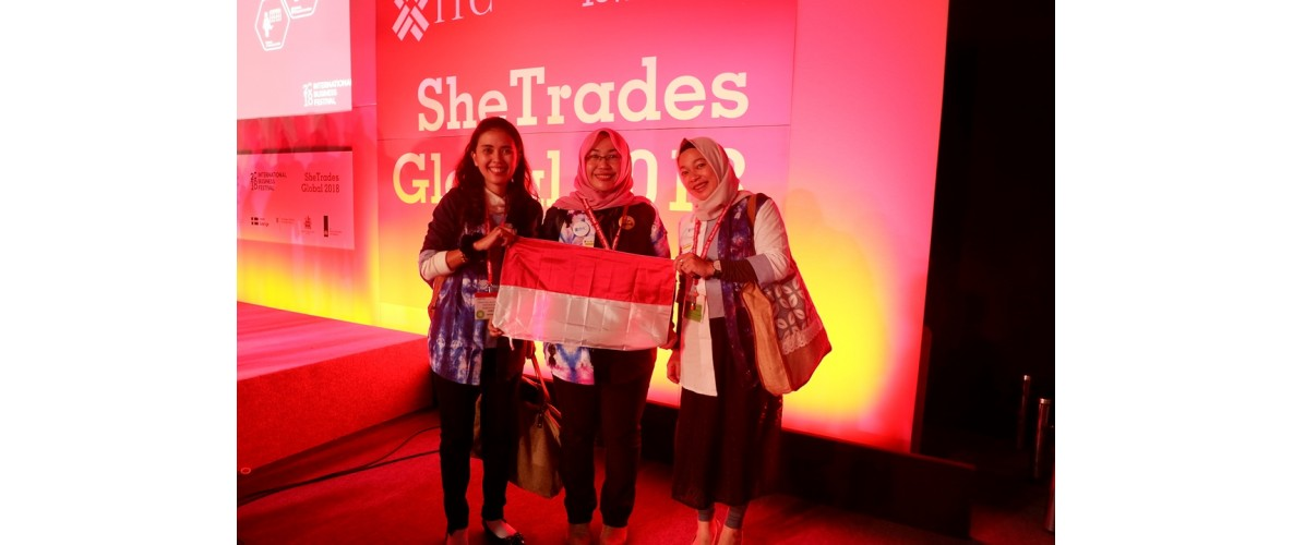 Bersama Delegasi Jateng, Indonesia